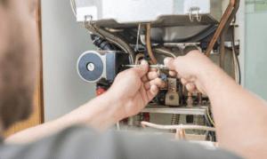 Boiler repair by a Gas safe registered engineer
