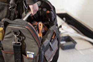 Gas engineer tool bag